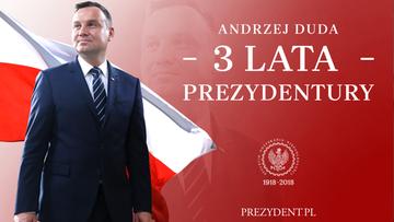 Trzy lata prezydentury Andrzeja Dudy. Zmiany w sądownictwie, weta i propozycja referendum