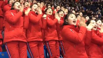 """Cheerleaderki z Korei Północnej zrobiły furorę w Pjongczangu. Występ """"armii piękna"""" hitem internetu"""