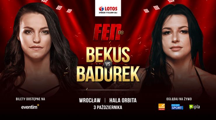 FEN 30: Walka Anita Bekus - Izabela Badurek dodana do rozpiski!