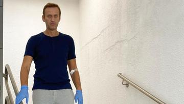 Nawalny wraca do zdrowia. Zaczął chodzić po schodach