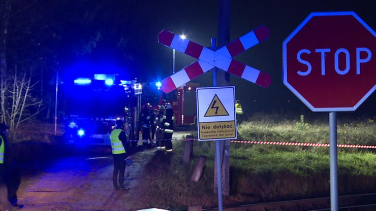 Śmiertelny wypadek na przejeździe. Pociąg potrącił motocyklistów