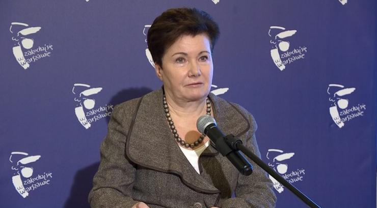 Sąd uchylił grzywnę Gronkiewicz-Waltz za niestawiennictwo przed komisją weryfikacyjną