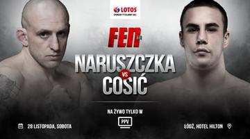 FEN 31: Niepokonany Ivan Cosić nowym rywalem Marcina Naruszczki