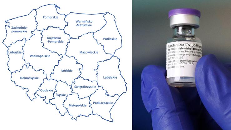 Opublikowano mapę punktów szczepień z całej Polski. Najwięcej na Mazowszu