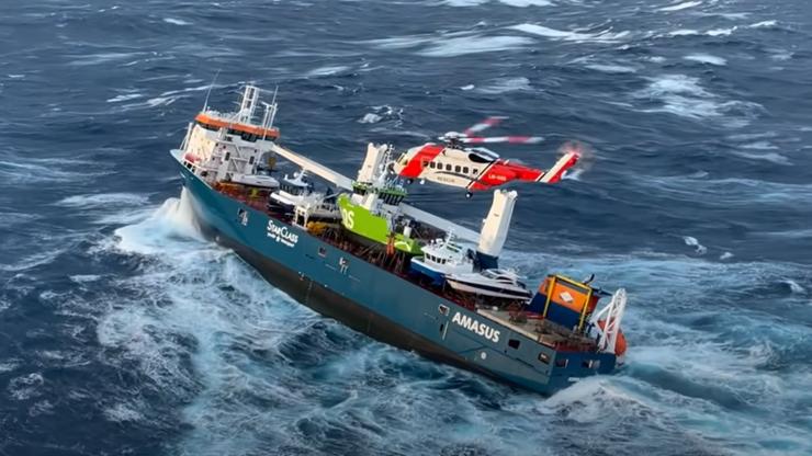Statek dryfuje u wybrzeży Norwegii, wkrótce początek akcji ratunkowej