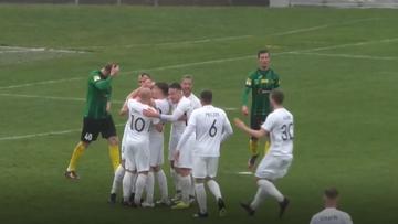 Fortuna 1 Liga: Kapitalny gol w meczu GKS Jastrzębie - Puszcza Niepołomice! (WIDEO)