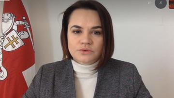 """""""Białorusini oczekiwali na więcej ze strony Zachodu"""". Cichanouska w """"Dzień na Świecie"""""""