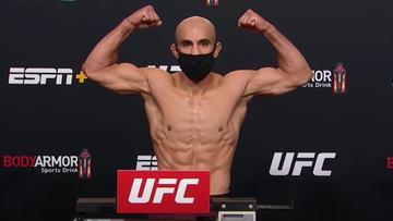 UFC: Zawodnik wyrzucony z organizacji. Powodem złamanie obostrzeń na Fight Island