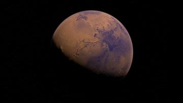 Chińska sonda wylądowała na Marsie. Łazik będzie badać Czerwoną Planetę