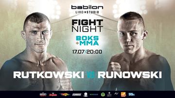 """Babilon Fight Night: Daniel """"Rutek"""" Rutkowski z Przemysławem """"Kosiarzem"""" Runowskim jak Dawid z Goliatem!"""