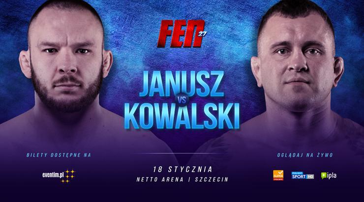 FEN 27: Polski co-main event! Janusz zmierzy się z Kowalskim