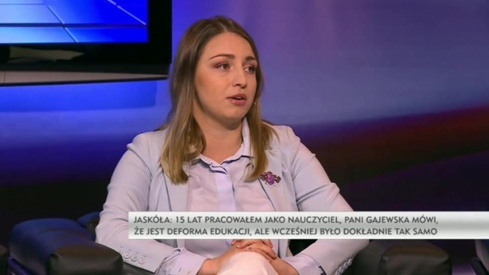 Salon Polityczny - Kinga Gajewska, Tomasz Jaskóła, Kamil Bortniczuk