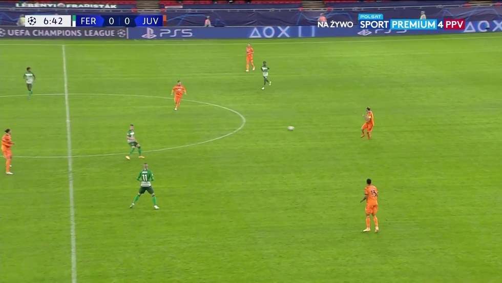 Ferencvaros Budapeszt - Juventus Turyn