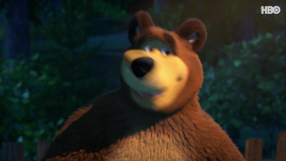 Masza i niedźwiedź III, odc. 18