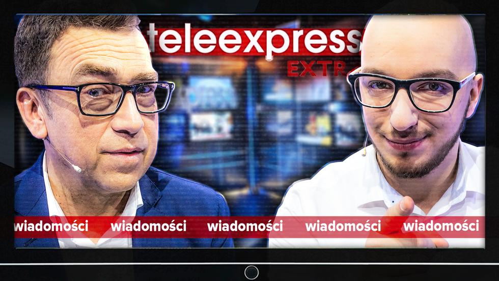 Prowadzimy Teleexpress z Maciejem Orłosiem!