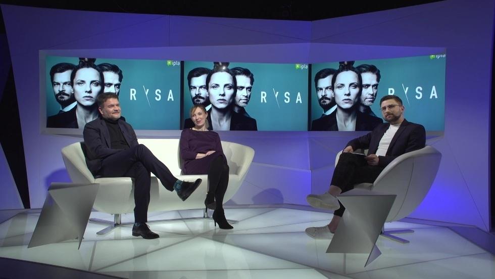 """Spotkanie z twórcami serialu """"Rysa"""""""