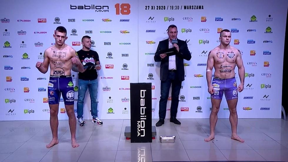 Babilon MMA 18: ceremonia ważenia