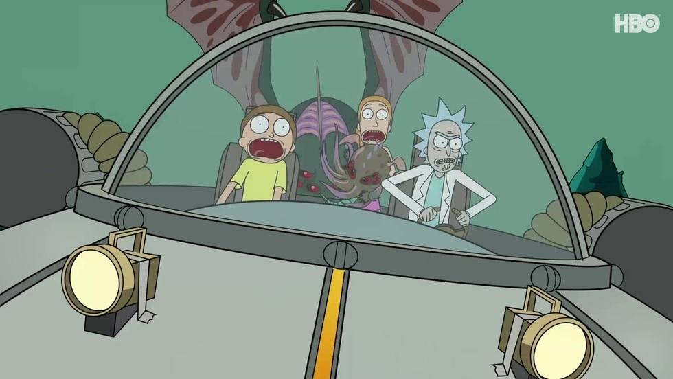 Rick i Morty V, odc. 4