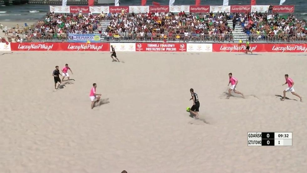Piłka nożna plażowa - finał mężczyzn